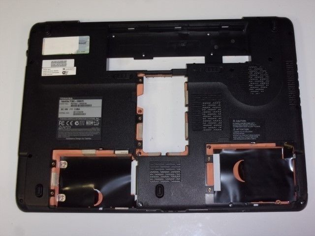 Toshiba Satellite P305 Laptop Bottom Case Black 3ABD3BA0I