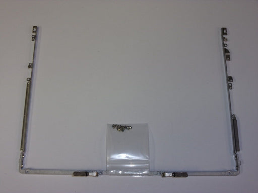 Apple iBook G4 A1054 Left Right Hinge Bracket Set w/ Screws 12.1""