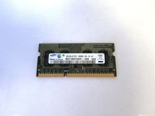 Samsung 1 GB PC3-10600 DDR3-1333 1333 MHz Laptop Memory RAM M471B2874EH1-CH9
