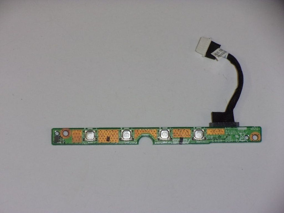 Asus Eee PC 1000HE Media Button Board w/ Cable 08G2019PC10O