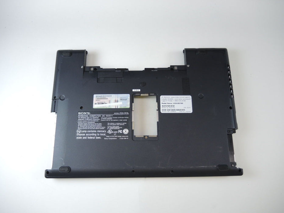 Sony Vaio VGN-BX Series Bottom Case 3-211-890