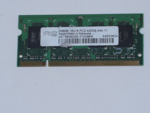 Aeneon 256 MB PC2-4200 DDR2-533 533 MHz Memory RAM AET560SD00-370A98X