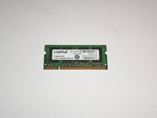Crucial 1 GB PC2-4200 533MHz Laptop Memory Ram CT12864AC53E.M8FA