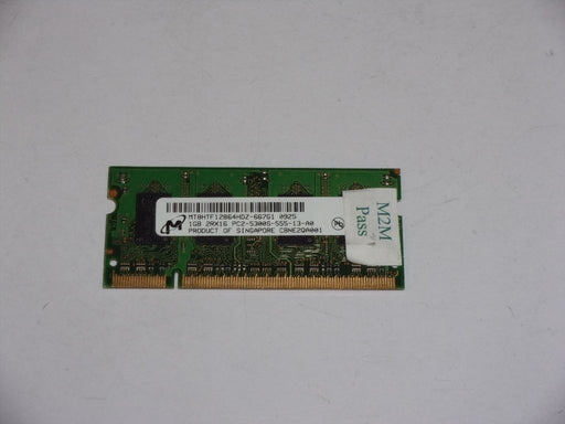 Micron 1 GB PC2-5300 DDR2-667 667 MHz Laptop Memory RAM MT8HTF12864HDZ-667G1