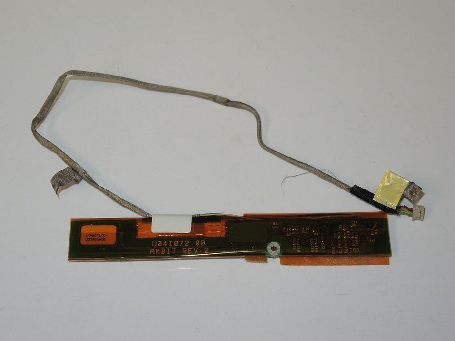 Apple PowerBook G4 A1010 LCD Inverter Board W/Cable 820-1404