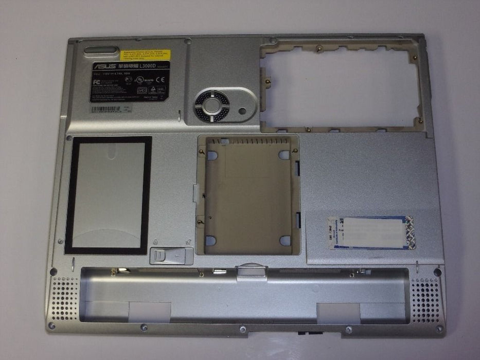 Asus L3D Laptop Bottom Case Silver 13-N6D91P013