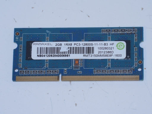 Ramaxel 2 GB PC3-12800 DDR3-1600 Laptop Memory RAM RMT3150MM58E8F-1600