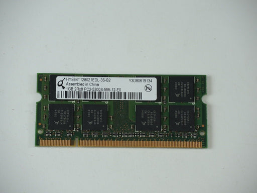 Qimonda 1 GB PC2-5300 DDR2-667 667MHz Laptop Memory Ram HYS64T128021HDL-3S-B