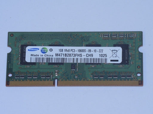Samsung 1 GB PC3-10600 DDR3-1333 1333MHz Laptop Memory Ram M471B2873FHS-CH9