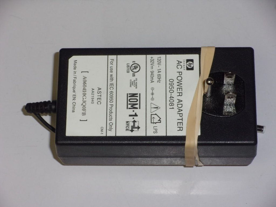 HP 32V Genuine Laptop AC Adapter ASTEC 0950-4081 AA21940