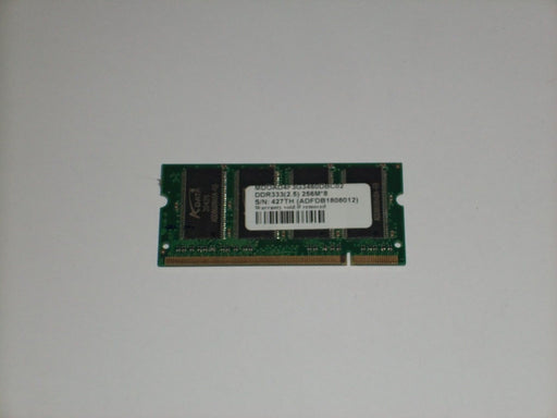 ADATA 256 MB PC2700 DDR-333 333 MHz Laptop Memory RAM ADFDB1808012