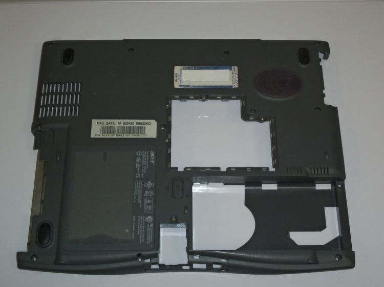 Acer Travelmate 630 Bottom Case 60.43U06.001