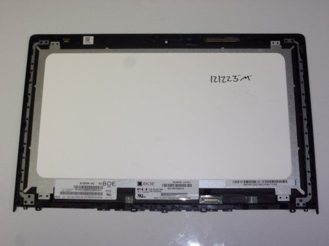 "Lenovo IdeaPad Y700 Partial Assembly LCD Screen 15.6"" Matte Black NV156FHM-N42"