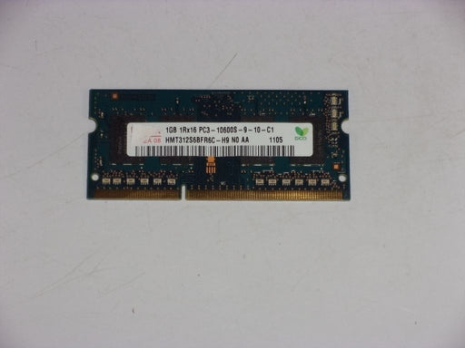 Hynix 1 GB PC3-10600 DDR3-1333 1333MHz Laptop Memory Ram HMT312S6BFR6C-H9