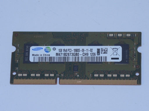 Samsung 1 GB PC3-10600 DDR3-1333 1333 MHz Laptop Memory Ram M471B2873GB0-CH9