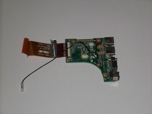 Alienware Area-51 M17X Audio Jack Board w/USB S-Video and Cable 08G2031FA20Q