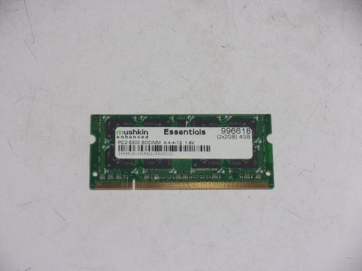 Mushkin Enhanced 2 GB PC2-5300 DDR2-667 Laptop Memory RAM Sodimm 996618