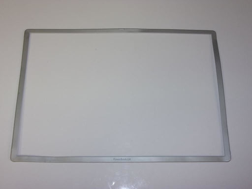 Apple PowerBook G4 A1025 LCD Front Bezel 15.2""