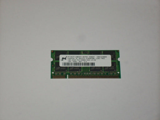 Micron 1 GB PC2-5300 DDR2-667 667 MHz Laptop Memory RAM MT16HTF12864HY-667B3