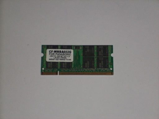 Panasonic 2 GB PC2-5300 DDR2-667 Laptop Memory RAM Sodimm CF-WMBA502G