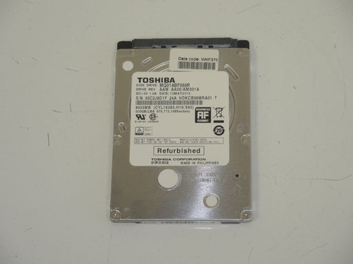 "Toshiba 2.5"" SATA 500 GB 5400 RPM HDD Laptop Hard Drive MQ01ABF050R"