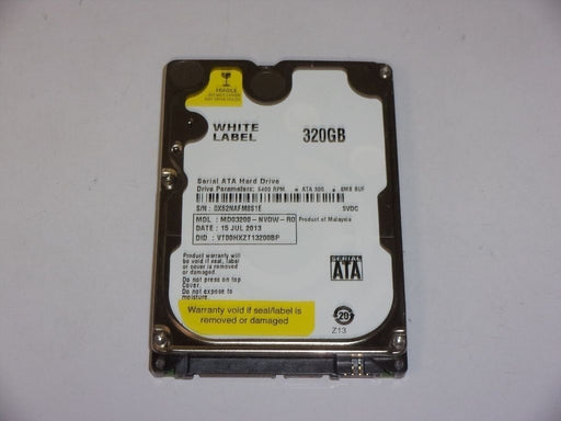 "MDT 2.5"" SATA 320 GB 5400 RPM HDD Laptop Hard Drive MD03200-NVDW-RO"