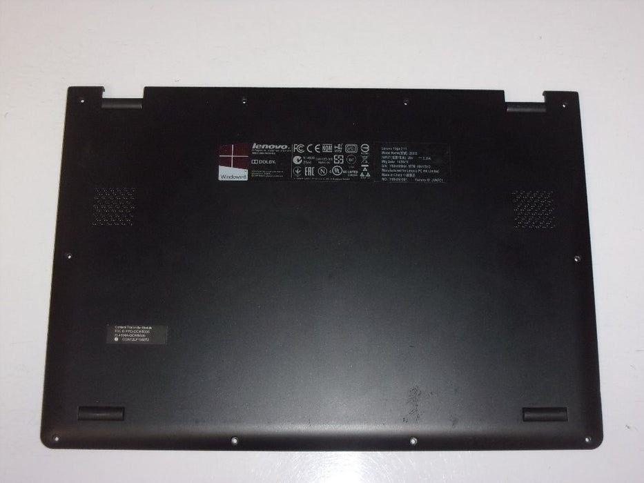 Lenovo Yoga 2 11 Series Laptop Bottom Case Black AP0T5000320