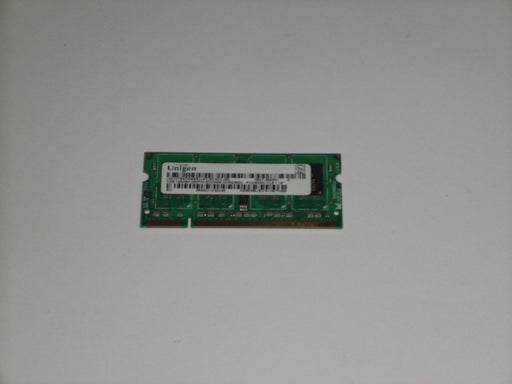 Unigen 1 GB PC2-6400 DDR2-800 800MHz Laptop Memory RAM UG12T640GM8SU-8CS0-MICJ00