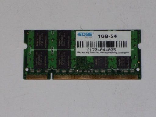 Edge 1 GB PC2-4200 DDR2-533 533 MHz Laptop Memory RAM 1GB-54 61704044005