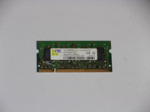 Aeneon 1 GB PC2-6400 DDR2-800 800 MHz Laptop Memory RAM AET760SD00-25D