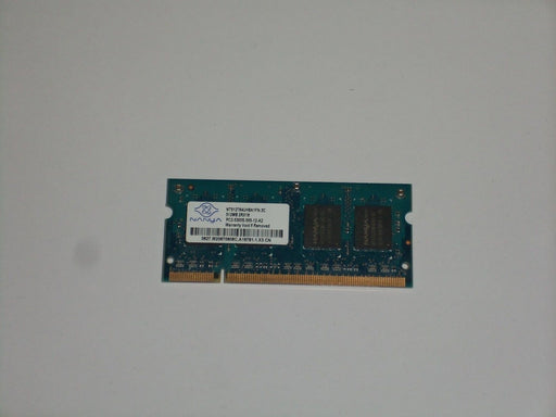 Nanya 512 MB PC2-5300 DDR2-667 667MHz Laptop Memory Ram NT512T64UH8A1FN-3C