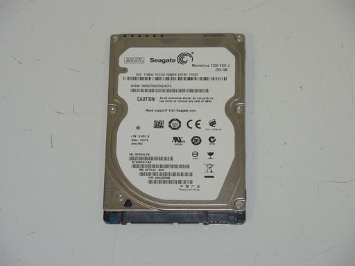 "Seagate 2.5"" SATA 250 GB 7200 RPM HDD Laptop Hard Drive ST9250411AS"