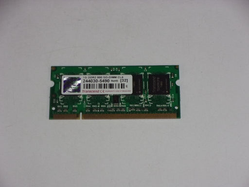 Transcend 1 GB PC2-6400 DDR2-800 Laptop Memory RAM JM800QSU-1G-E