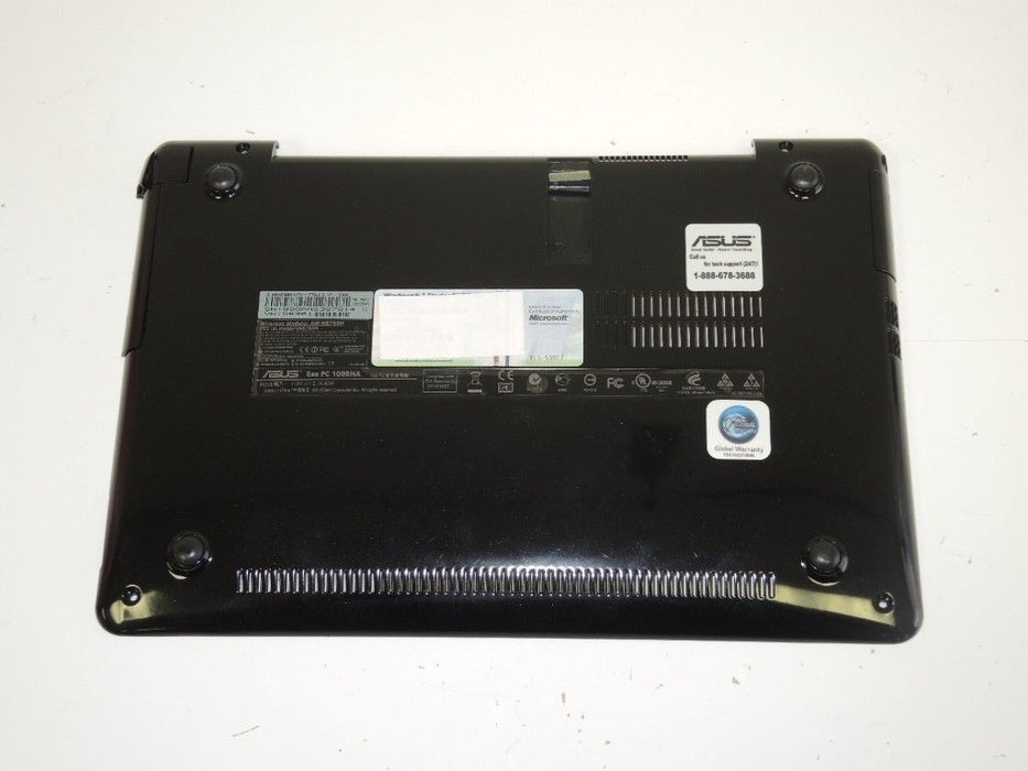 "Asus Eee PC 1008HA Laptop Bottom Case Black 13NA-19A0721 ""B"""