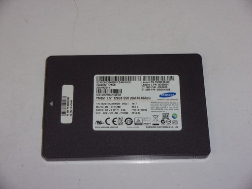 "Samsung 2.5"" SATA 128 GB SSD Laptop Solid State Drive MZ-7TE1280"