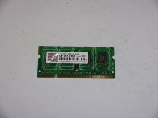 Transcend 1 GB PC2-6400 DDR2-800 Laptop Memory RAM 541387-0168