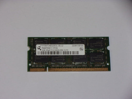 Qimonda 2 GB PC2-5300 DDR2-667 667 MHz Laptop Memory RAM HYS64T256020EDL-3S-C2