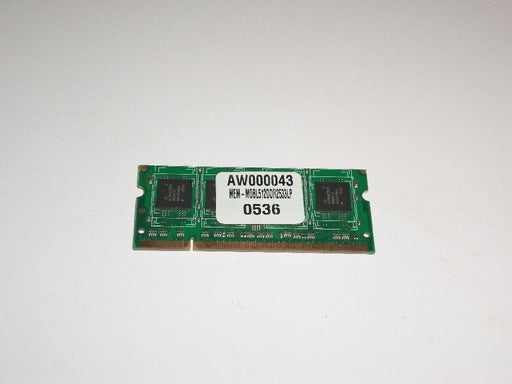Alienware 512 MB PC2-4200 DDR2-533 533 MHz Laptop Memory Ram AW000043