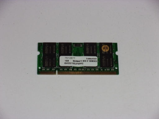GoldenRAM 1 GB PC4200 DDR-533 Laptop Memory RAM Sodimm 7512677