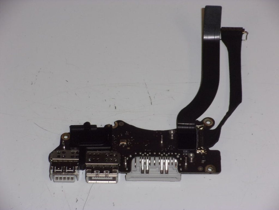 Apple MacBook Pro A1398 Card Reader Board DC-IN Jack USB w/Cable 820-5482-A