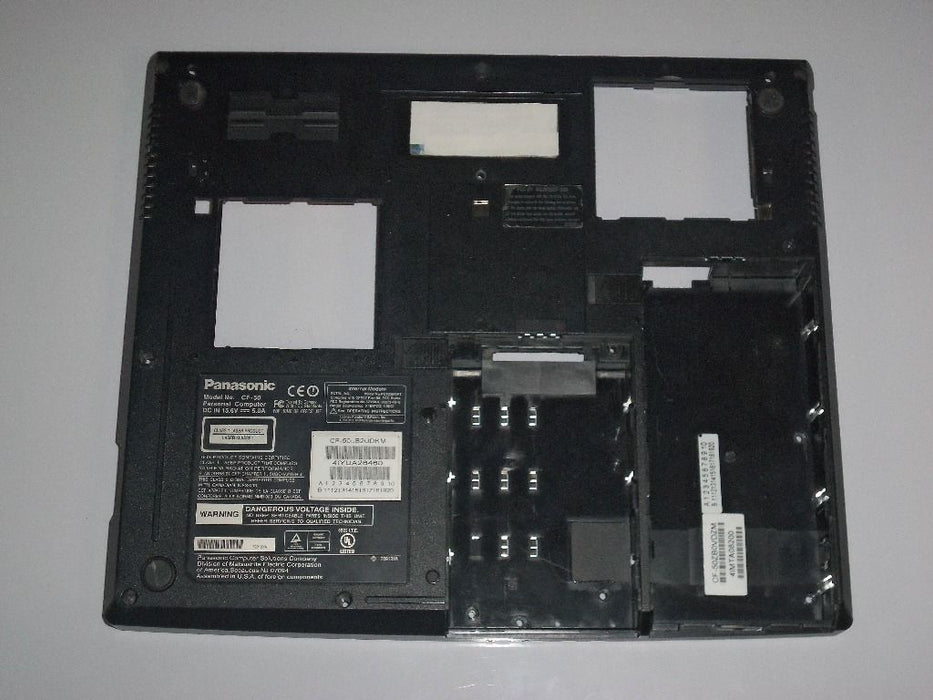 Panasonic ToughBook CF-50 Laptop Bottom Case Black