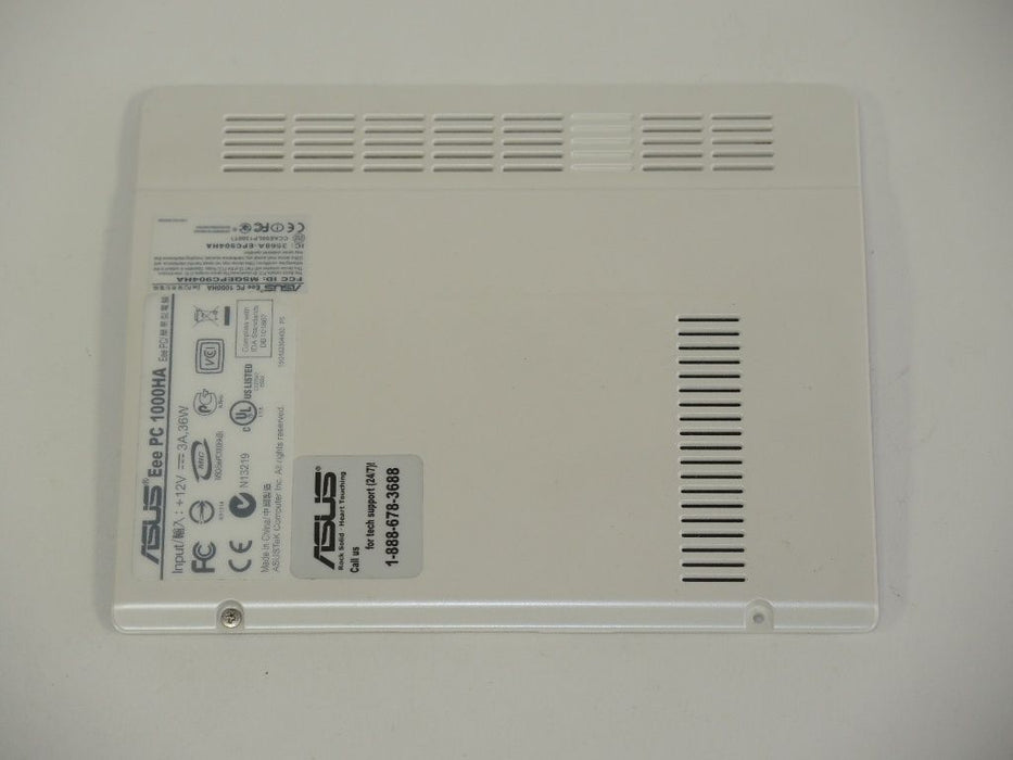 Asus Eee PC 1000HA Memory RAM Hard Drive Cover Door White