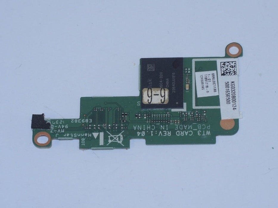 Acer Iconia W510 Tablet Card Reader Board 69NL0IC11A0