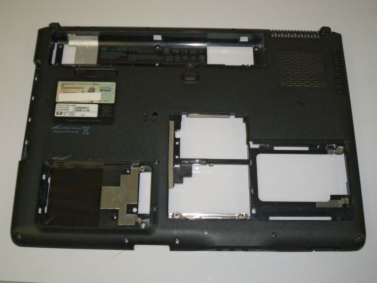 HP Pavilion DV9000 Series Bottom Case 451072-001