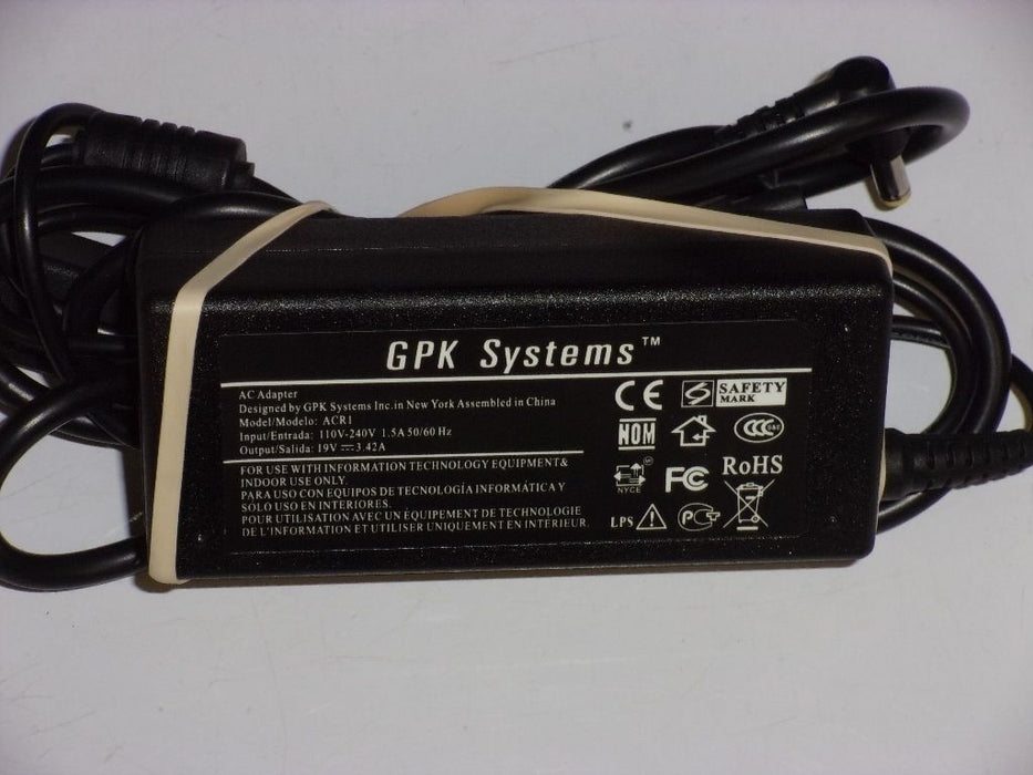 Acer 19V Replacement Laptop AC Adapter ACR1