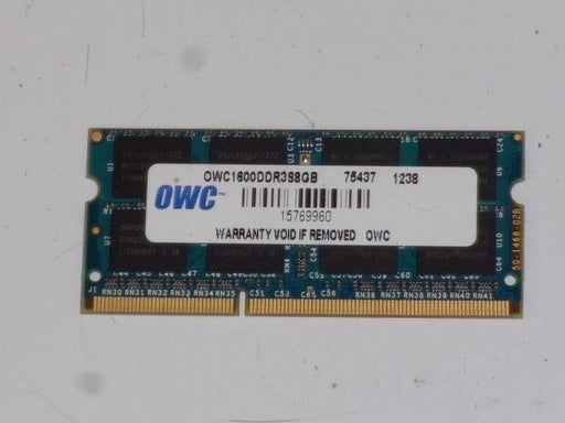 OWC 8 GB PC3-12800 DDR3-1600 Laptop Memory RAM Sodimm OWC1600DDR3S8GB
