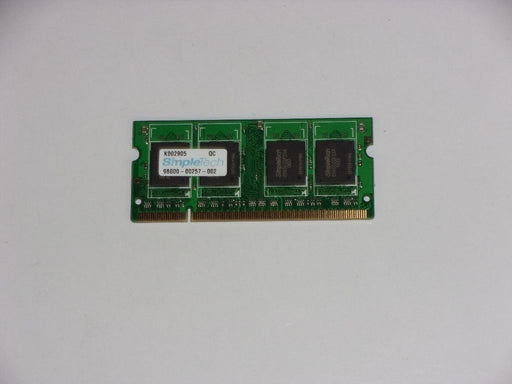SimpleTech 512 MB PC2-4200 DDR2-533 533 MHz Laptop Memory RAM 98000-00257-002