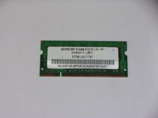 Asus 512MB PC2-5300 DDR2-667 667MHz Laptop Memory RAM 04G001616677