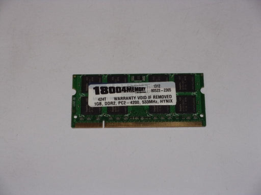 Super Talent 1 GB PC2-5300 DDR2-667 667 MHz Laptop Memory RAM T667SB1G/H