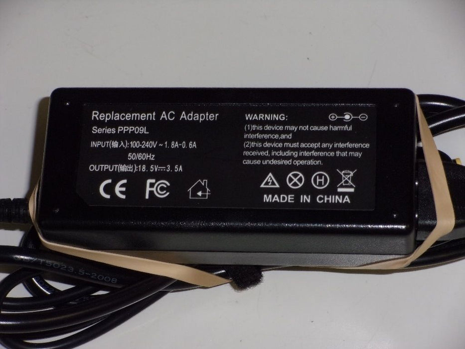 HP 18.5V Replacement Laptop AC Adapter PPP09L